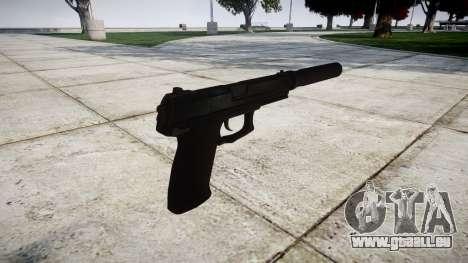 Pistolet HK Mk.23 pour GTA 4 secondes d'écran
