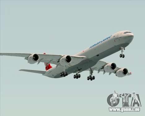 Airbus A340-600 Turkish Cargo pour GTA San Andreas moteur