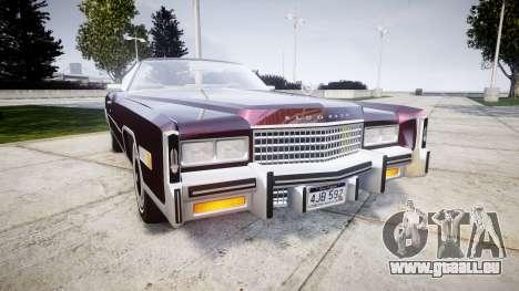 Cadillac Eldorado 1978 pour GTA 4