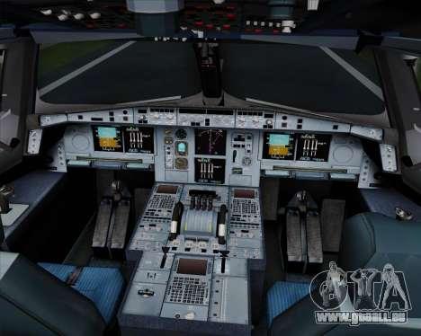 Airbus A380-800 Hainan Airlines für GTA San Andreas Innen