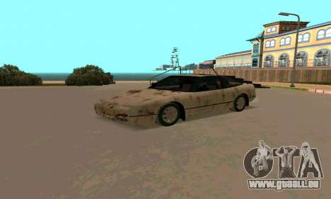 Nissan 240SX Rusted pour GTA San Andreas