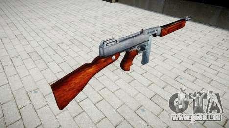 Pistolet mitrailleur Thompson M1A1 boîte de icon pour GTA 4 secondes d'écran