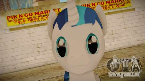 Shining Armor from My Little Pony für GTA San Andreas dritten Screenshot