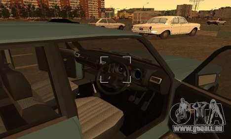 Lada 2104 Riva pour GTA San Andreas sur la vue arrière gauche
