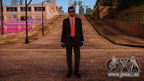 GTA 5 Online Skin 14 pour GTA San Andreas