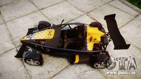 Ariel Atom V8 2010 [RIV] v1.1 Tool Safe für GTA 4 rechte Ansicht