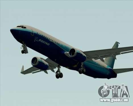 Boeing 737-800 House Colors für GTA San Andreas Innenansicht