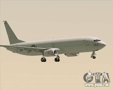 Boeing P-8 Poseidon US Navy für GTA San Andreas rechten Ansicht