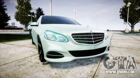 Mercedes-Benz E200 Vossen VVS CV5 pour GTA 4