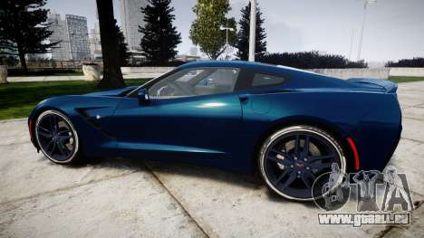 Chevrolet Corvette C7 Stingray 2014 v2.0 TirePi1 für GTA 4 linke Ansicht