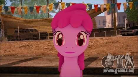 Berrypunch from My Little Pony pour GTA San Andreas troisième écran