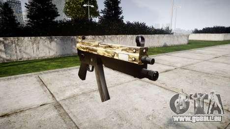 Pistolet mitrailleur MP5 Désert pour GTA 4