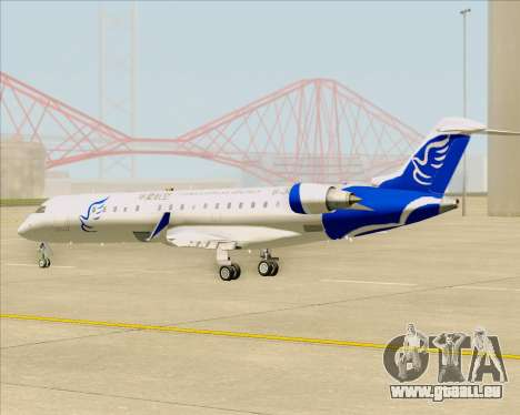 Embraer CRJ-700 China Express Airlines (CEA) für GTA San Andreas Innenansicht