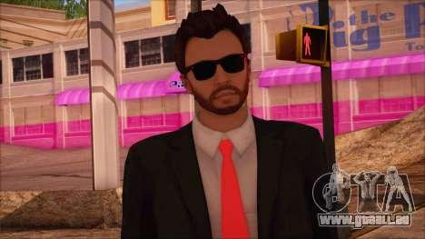 GTA 5 Online Skin 14 pour GTA San Andreas troisième écran