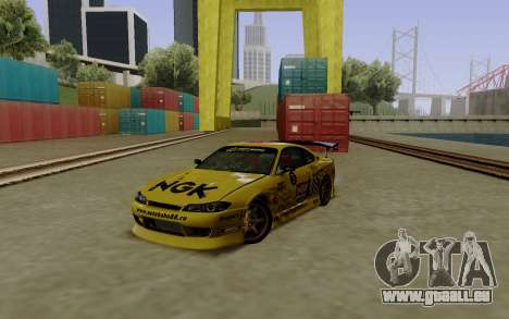Nissan Silvia S15 NGK Motorsport für GTA San Andreas