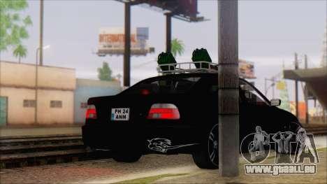 BMW 520d E39 2000 pour GTA San Andreas laissé vue