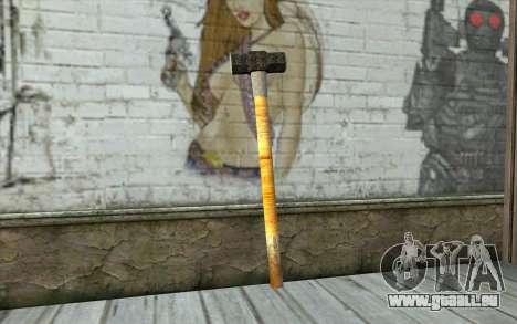 Sledge Hammer für GTA San Andreas