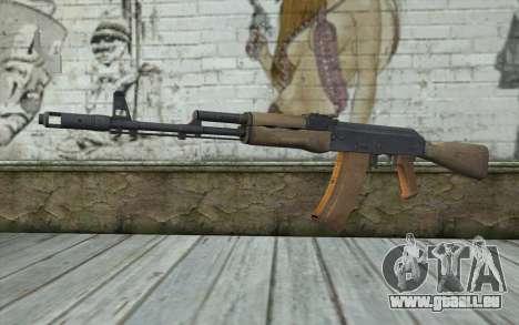 AK-74 Standart pour GTA San Andreas
