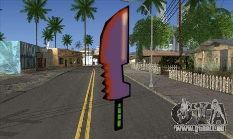 Dessin animé épée pour GTA San Andreas