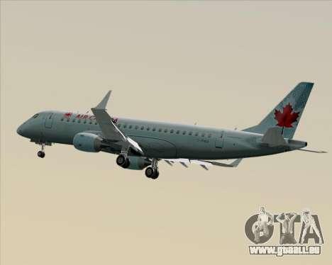 Embraer E-190 Air Canada für GTA San Andreas Innenansicht