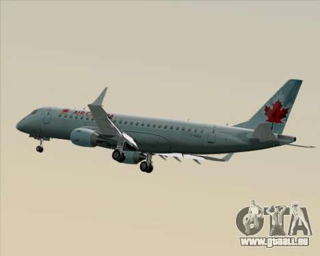 Embraer E-190 Air Canada pour GTA San Andreas vue intérieure
