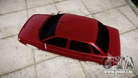 ВАЗ-2110 Bogdan rims2 pour GTA 4 est un droit