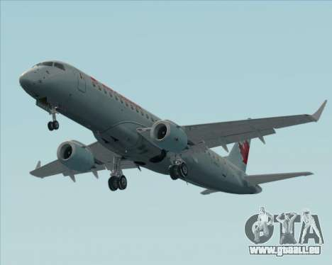 Embraer E-190 Air Canada pour GTA San Andreas vue de dessous