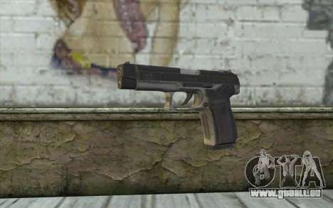 MP443 from COD: Ghosts für GTA San Andreas