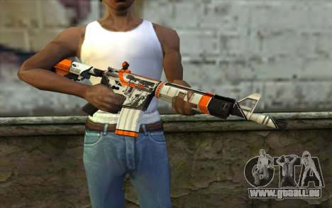 M4A4 from CS:GO für GTA San Andreas dritten Screenshot