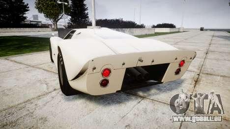 Ford GT40 Mark IV 1967 für GTA 4 hinten links Ansicht