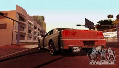 ENB pour ordinateurs faibles pour GTA San Andreas cinquième écran