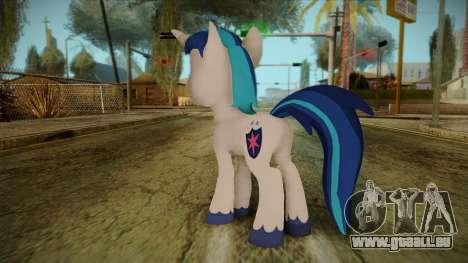 Shining Armor from My Little Pony für GTA San Andreas zweiten Screenshot