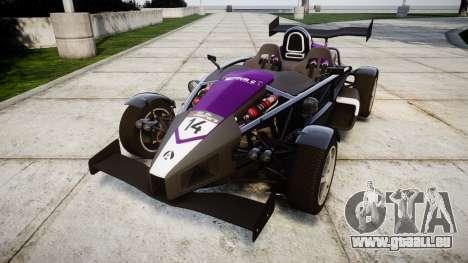 Ariel Atom V8 2010 [RIV] v1.1 FOUR C Motorsport pour GTA 4