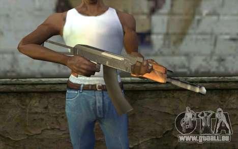 AK47 von Hitman 2 für GTA San Andreas