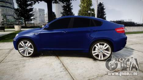 BMW X6M rims1 für GTA 4 linke Ansicht