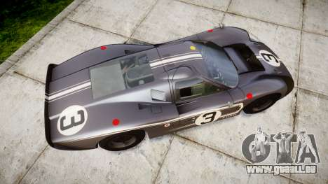 Ford GT40 Mark IV 1967 PJ 3 pour GTA 4 est un droit