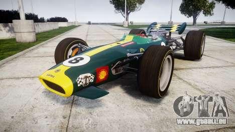 Lotus 49 1967 green pour GTA 4