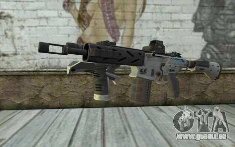 Peacekeeper from Call of Duty Black Ops II für GTA San Andreas