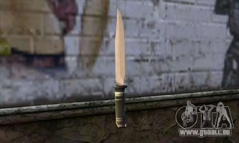 Lange Messer für GTA San Andreas zweiten Screenshot