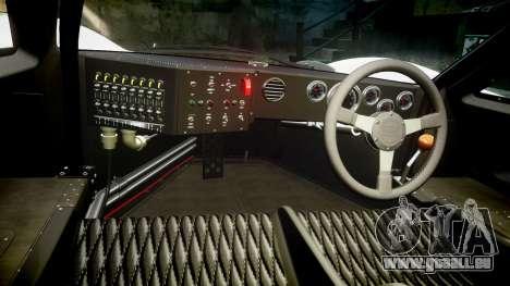 Ford GT40 Mark IV 1967 PJ RAPA olio 8 für GTA 4 Rückansicht