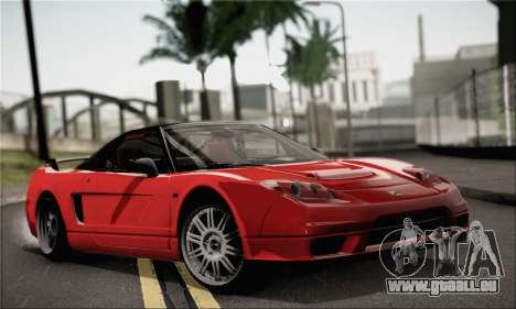 Honda NSX pour GTA San Andreas