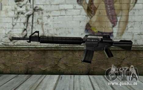 Retextured M4 für GTA San Andreas
