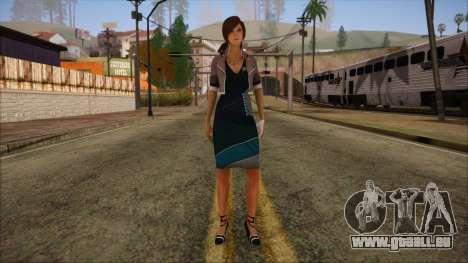 Modern Woman Skin 8 pour GTA San Andreas