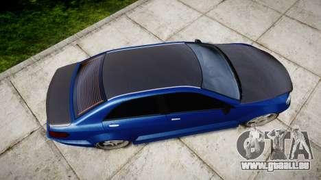 Benefactor Schafter Mercedes-Benz für GTA 4 rechte Ansicht