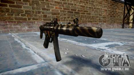 Pistolet MP5SD DRS CS c cible pour GTA 4