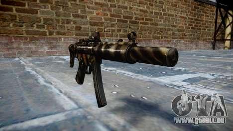 Pistolet MP5SD DRS CS c cible pour GTA 4