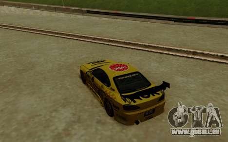 Nissan Silvia S15 NGK Motorsport für GTA San Andreas zurück linke Ansicht