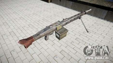 Allemand MG3 mitrailleuse icon3 pour GTA 4 secondes d'écran