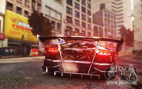 Lamborghini Aventador TZR R-Tech pour GTA 4 est une gauche
