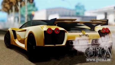 Ferrari Velocita 2013 SA Plate für GTA San Andreas linke Ansicht